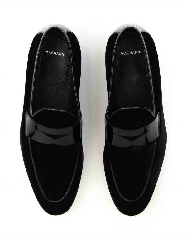 SUEDE TUXEDO LOAFER4