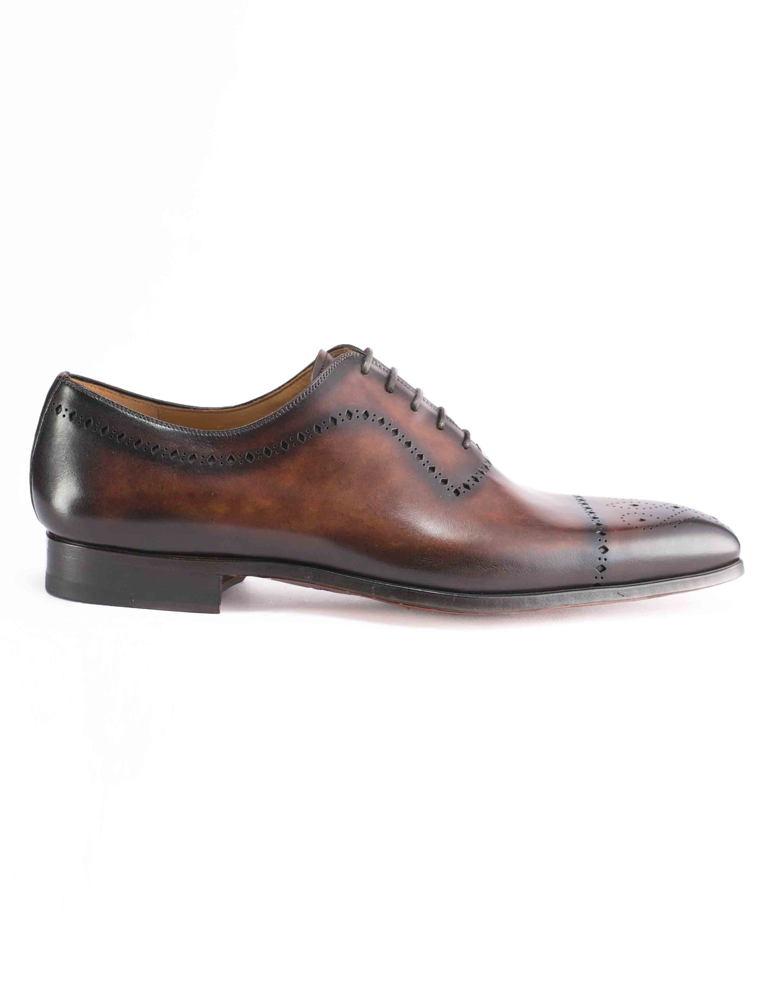 TABACO WHOLE CUT MEDALLION TOE OXFORDS1
