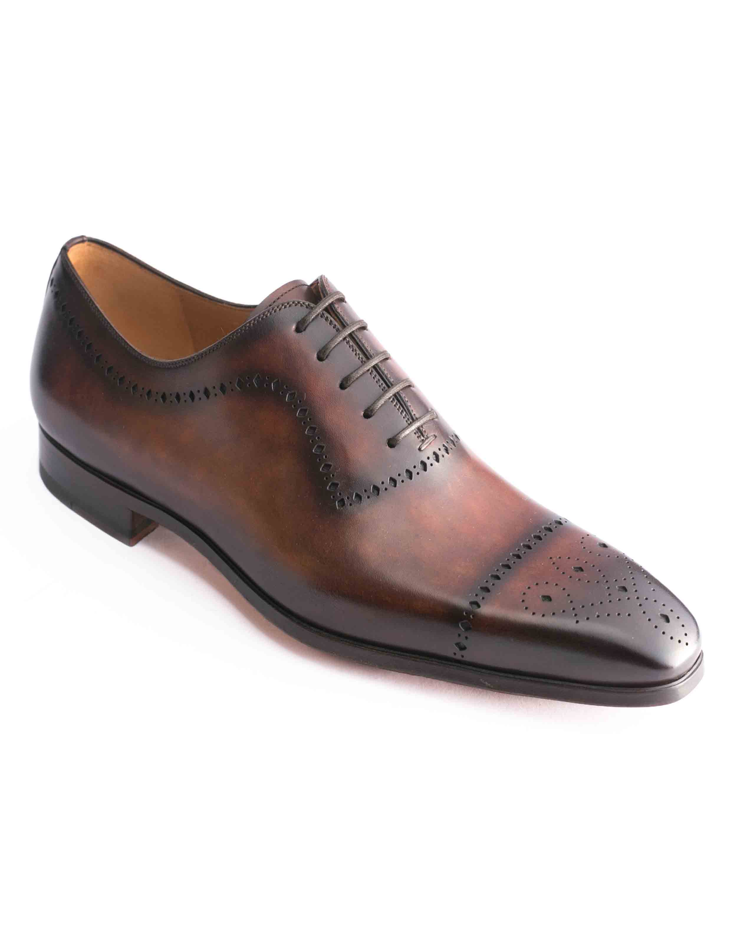 TABACO WHOLE CUT MEDALLION TOE OXFORDS2