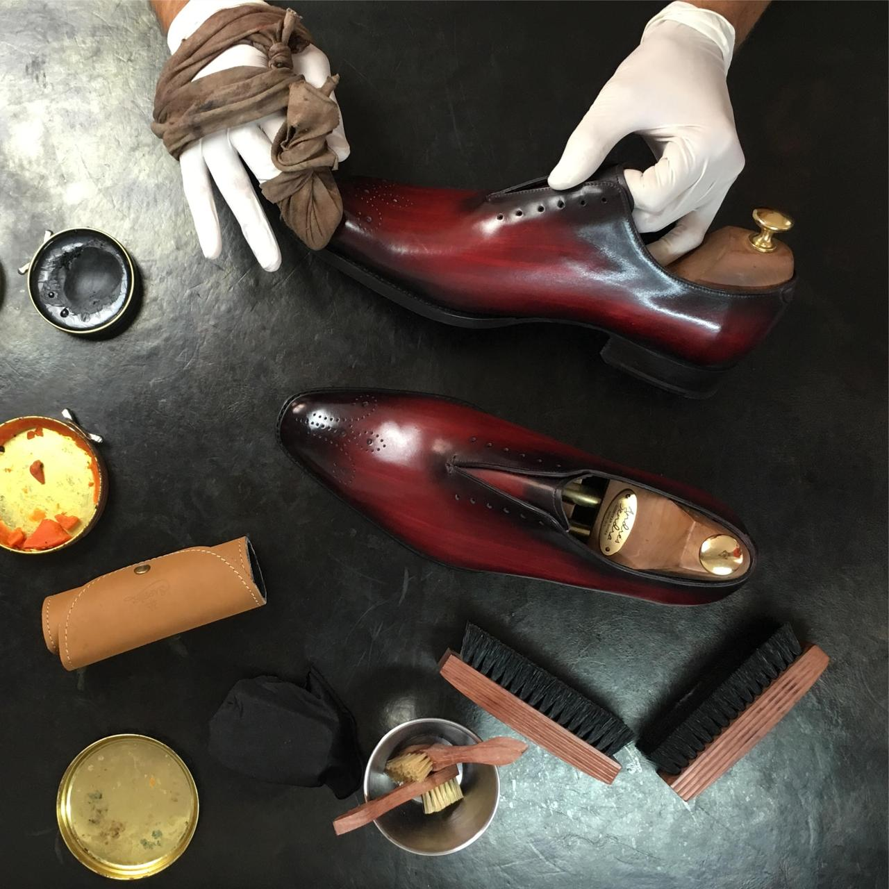 Shoe Care Maintenance Protect Nourish Leather Shoes