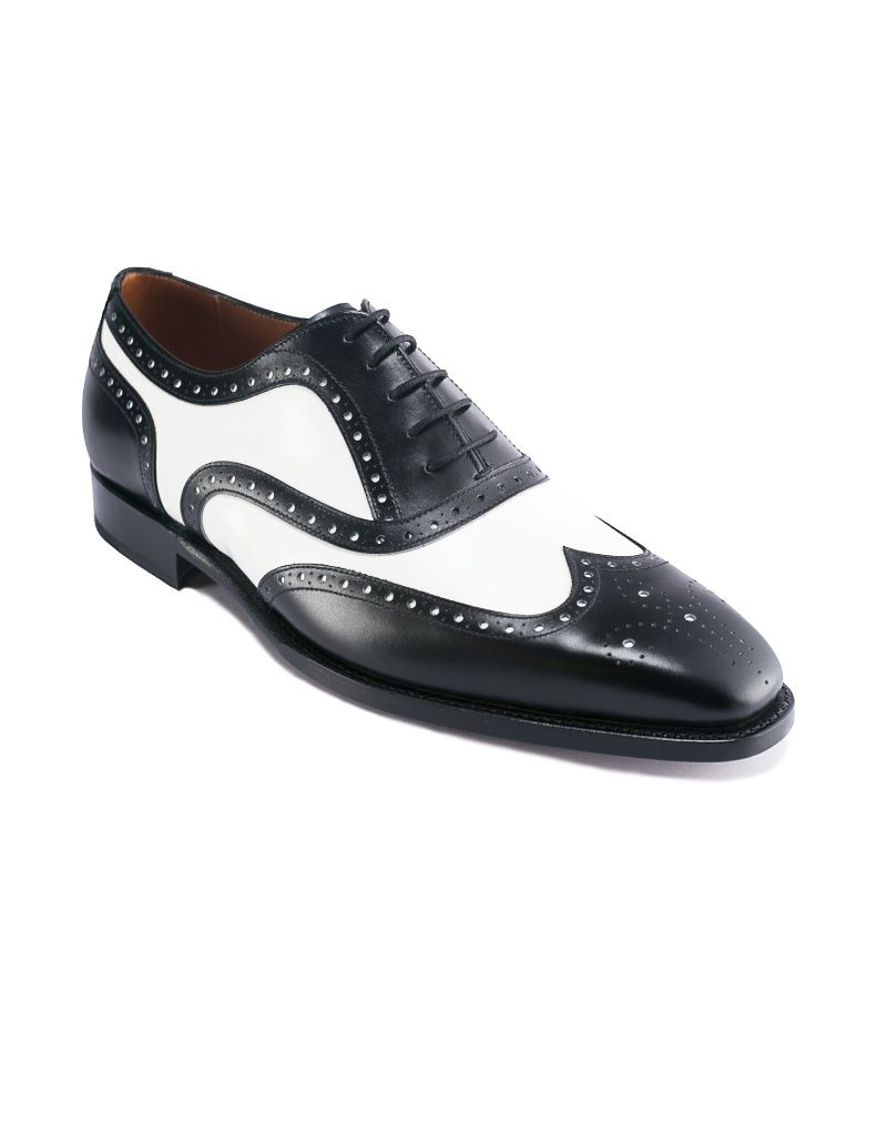 Andres Sendra-Shoes-12562-Boxcalf Black_White-2