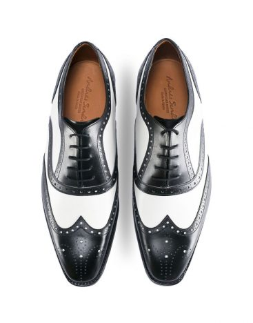 Andres Sendra-Shoes-12562-Boxcalf Black_White-4