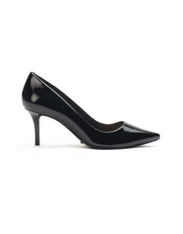 Schutz Black Low Heel Pumps