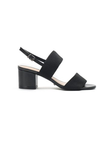 Schutz Black Slingback Sandals