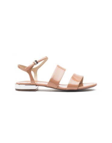Schutz Toasted Nut Double Band Sandals