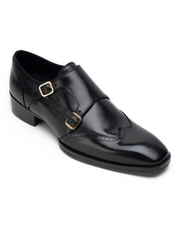 Heel _ Buckle London Signature-shoes-HBSDAR001-Black-2