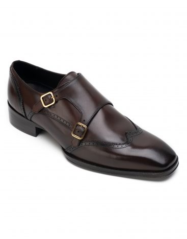 Heel _ Buckle London Signature-shoes-HBSDAR002-Brown-2