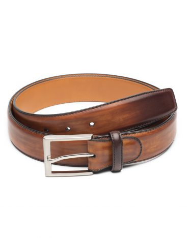 Magnanni Chocolate Brown Belt 1