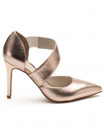 Pumps Pink Metallic1