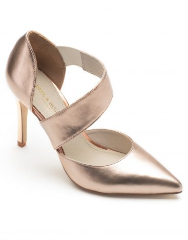 Pumps Pink Metallic2
