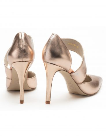 Pumps Pink Metallic3