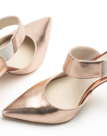 Pumps Pink Metallic4