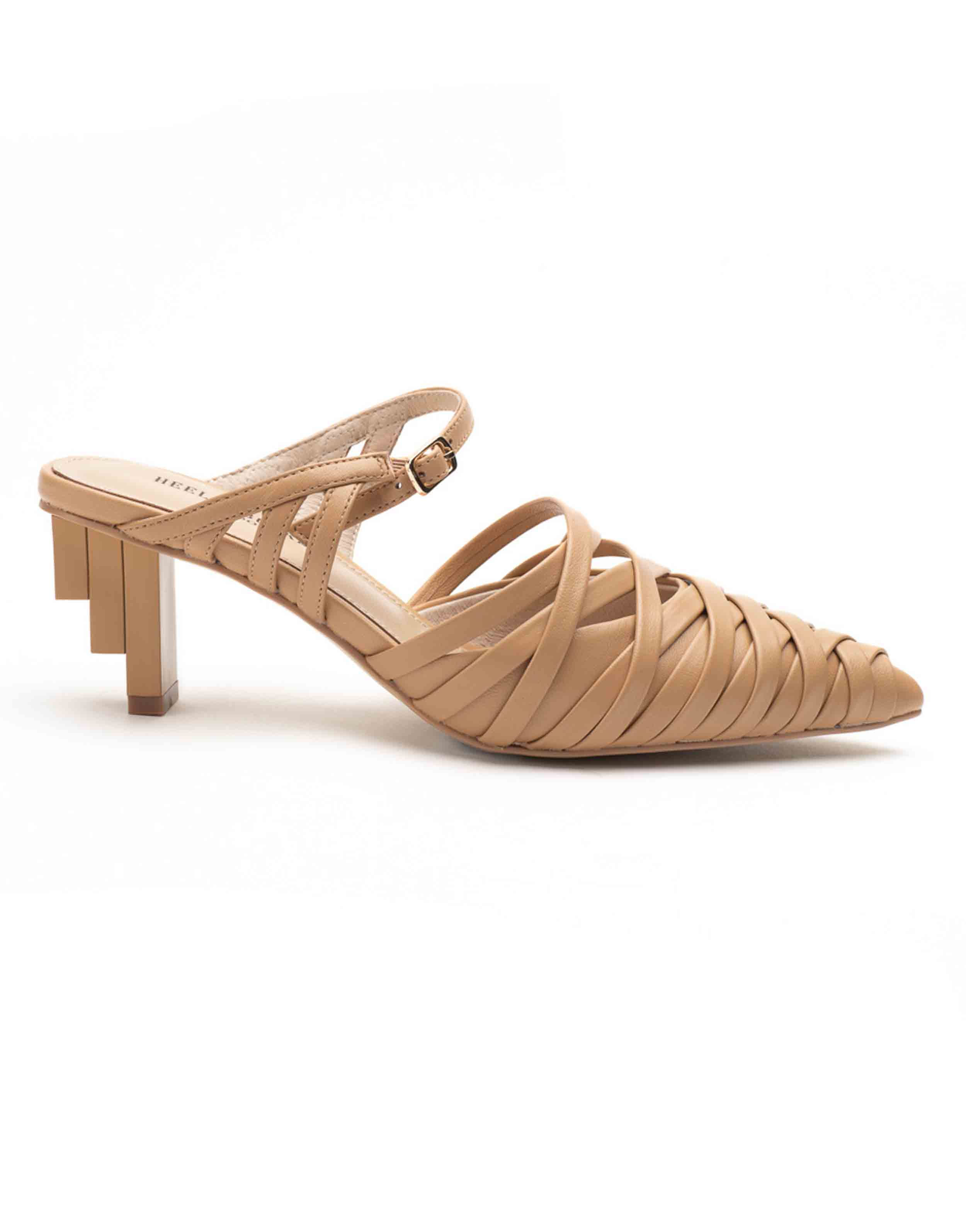 Heel _ Buckle London-Shoes-HBDARW086-Asymmetrical Beige Strappy Sandals-1