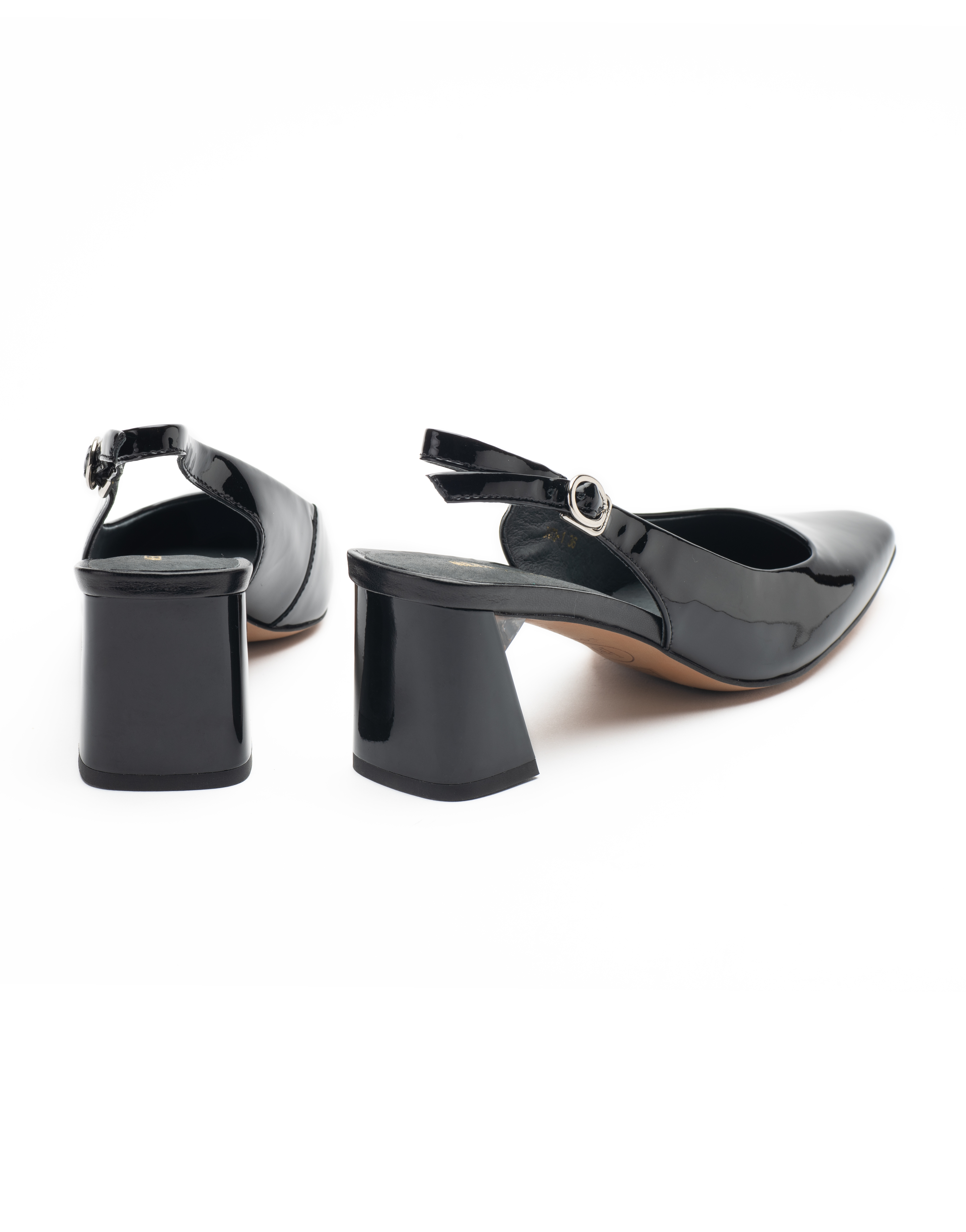Heel _ Buckle London-Shoes-R173-1-Closed block heels-Black-3