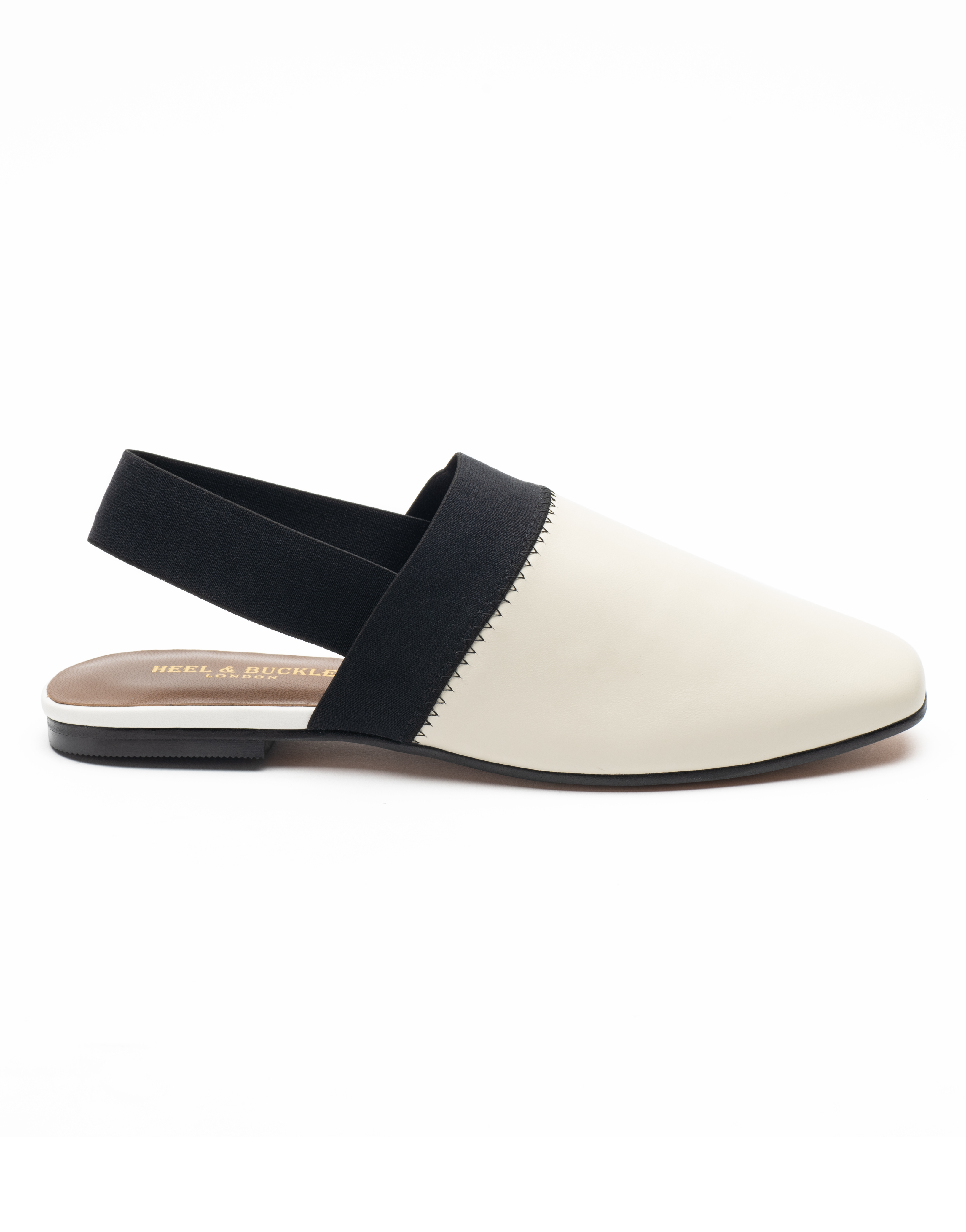 Heel _ Buckle London-Shoes-R178-1-Closed flats-White-1