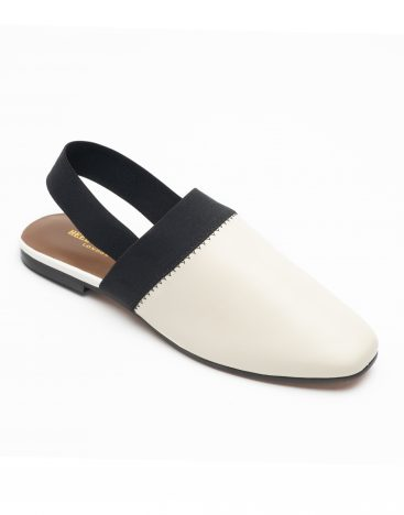 Heel _ Buckle London-Shoes-R178-1-Closed flats-White-2