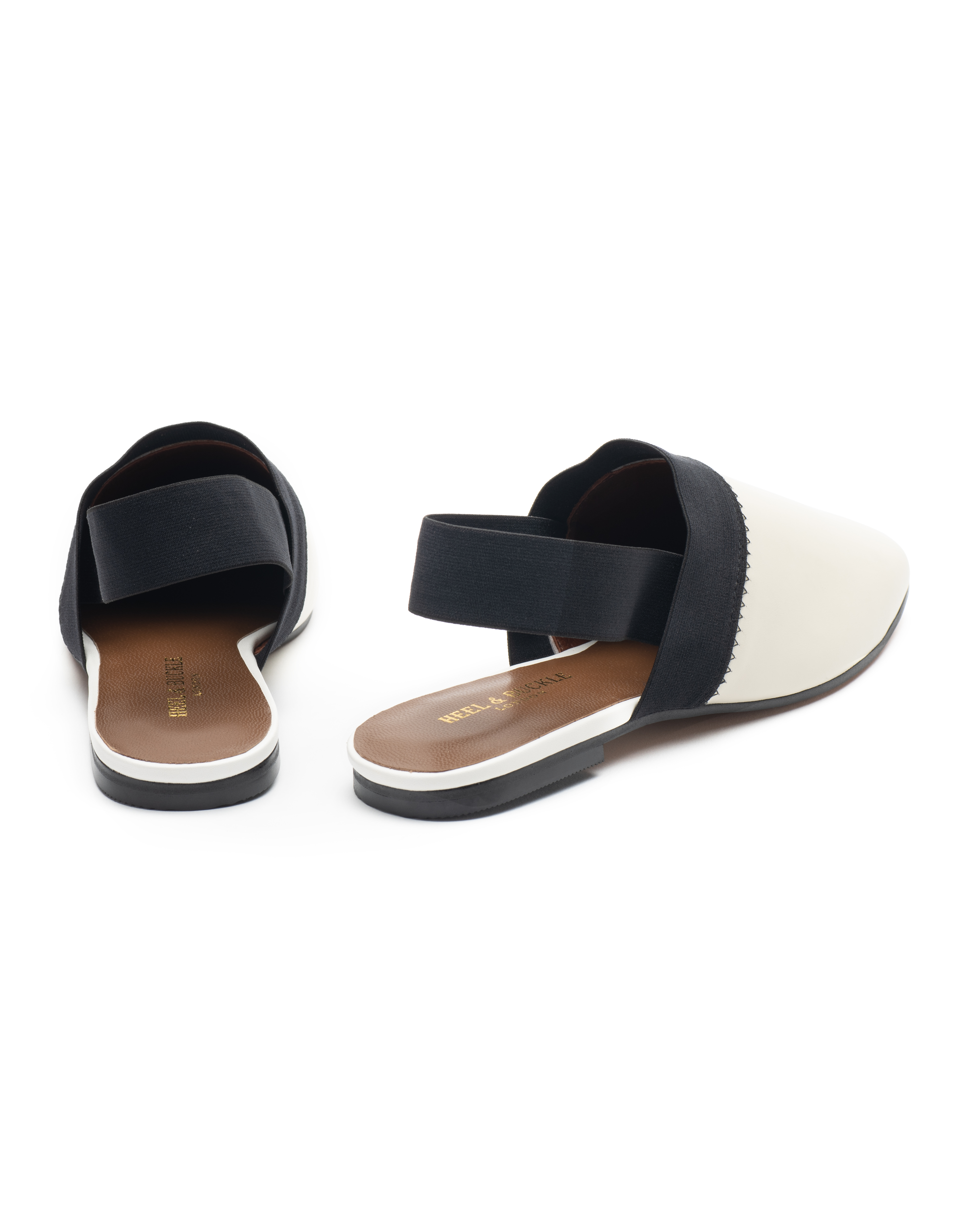 Heel _ Buckle London-Shoes-R178-1-Closed flats-White-3