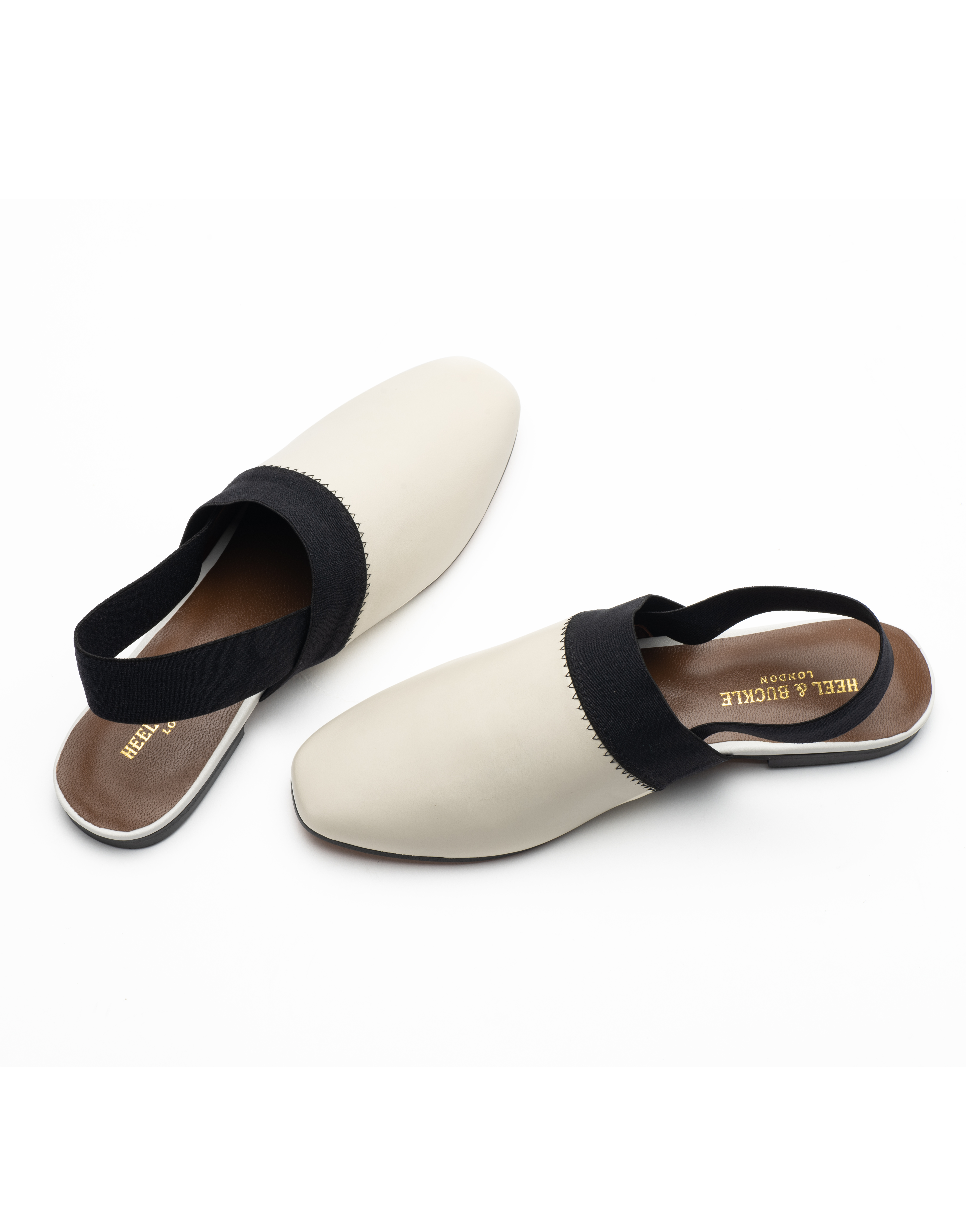Heel _ Buckle London-Shoes-R178-1-Closed flats-White-4