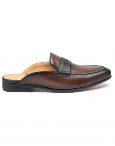 Slip Ons Dark Brown1