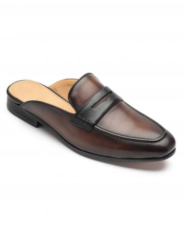 Slip Ons Dark Brown2
