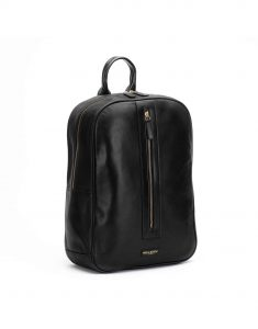 Black Center Zip Backpack2