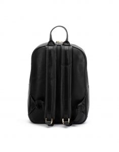 Black Center Zip Backpack3