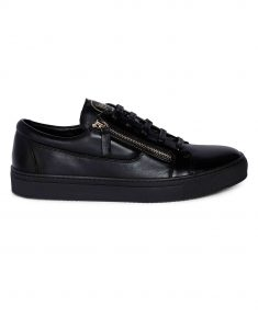 Black Side zip Sneaker 1