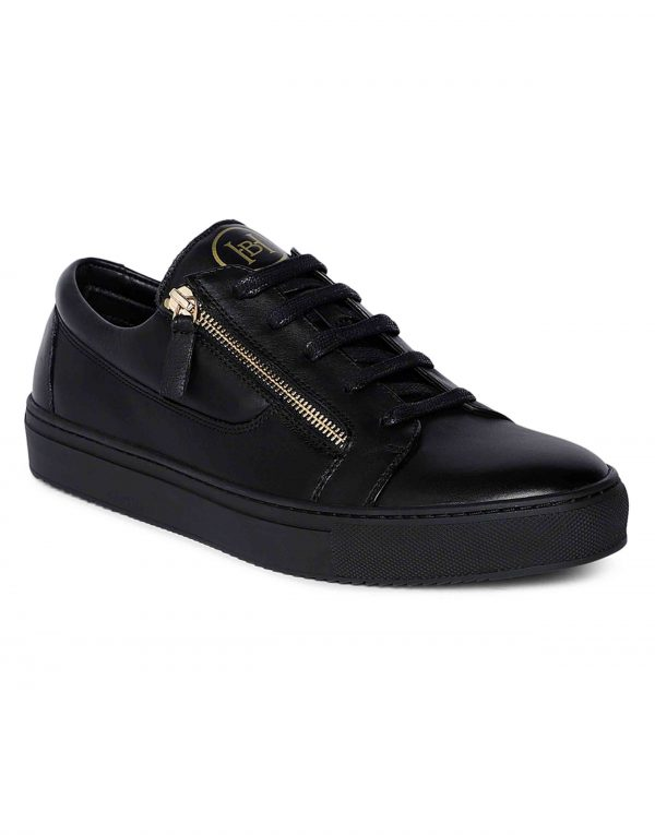 Black Side zip Sneaker 2