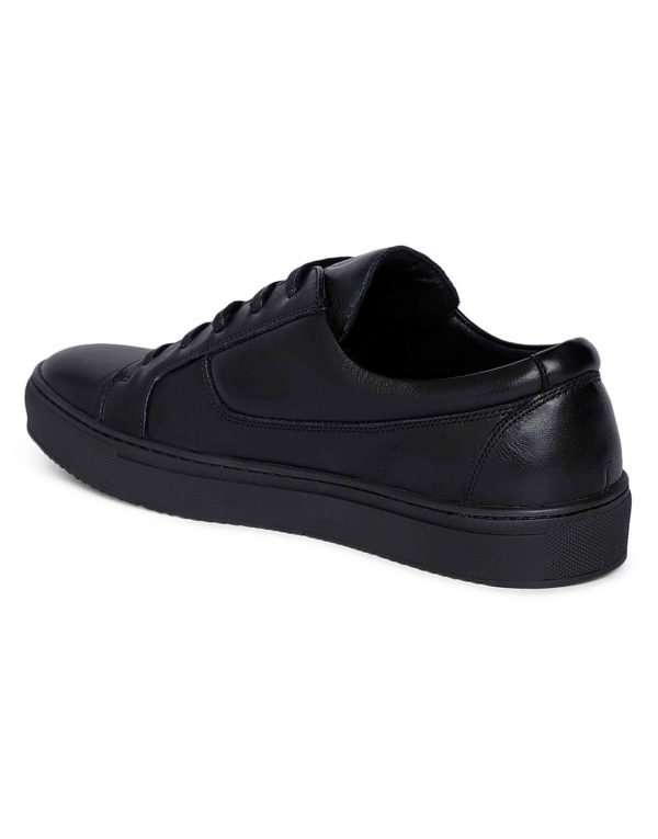Black Side zip Sneaker 3
