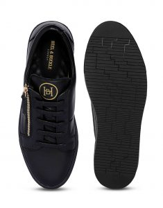 Black Side zip Sneaker 4