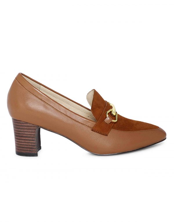 Block Heeled Pumps1
