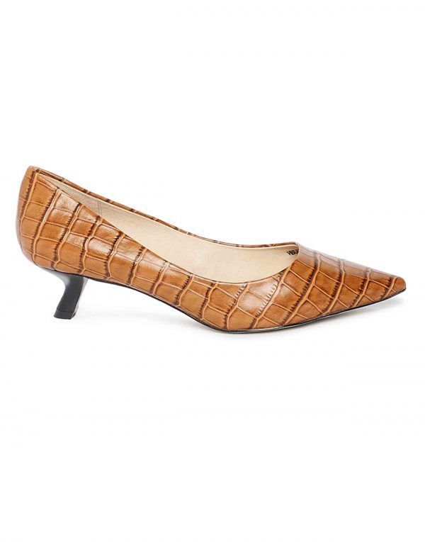 Brick Print Pumps1