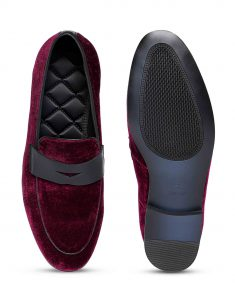 Burgundy penny Loafer 4