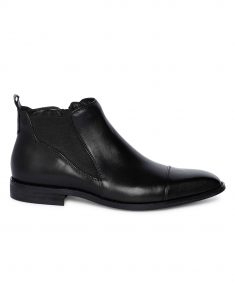 Charcoal Chelsea Boots 1