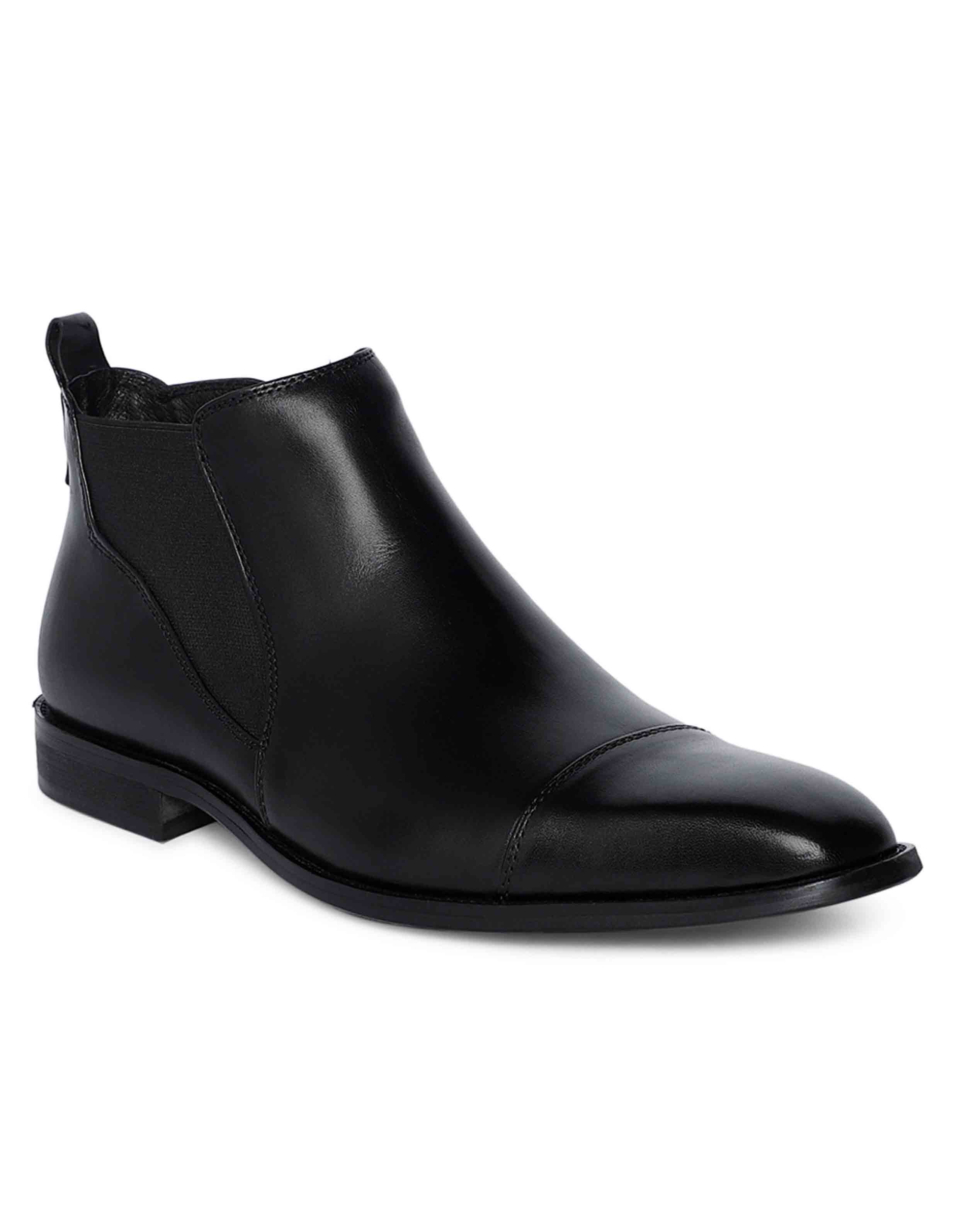 Charcoal Chelsea Boots 2