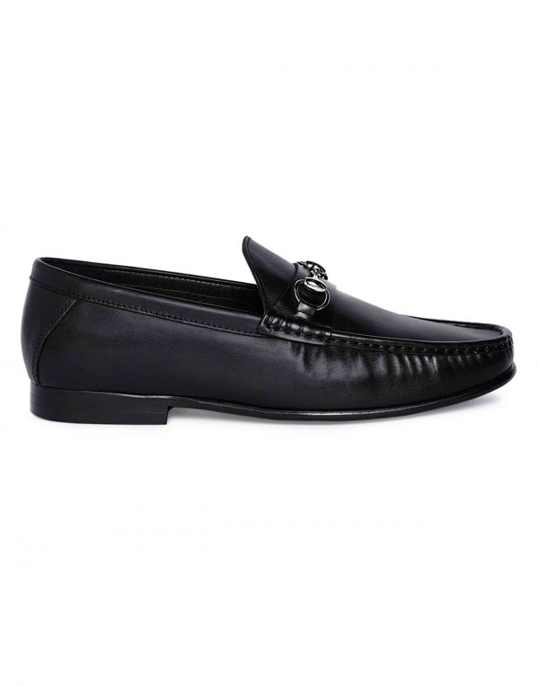 Charcoal Horse-bit Loafer 1