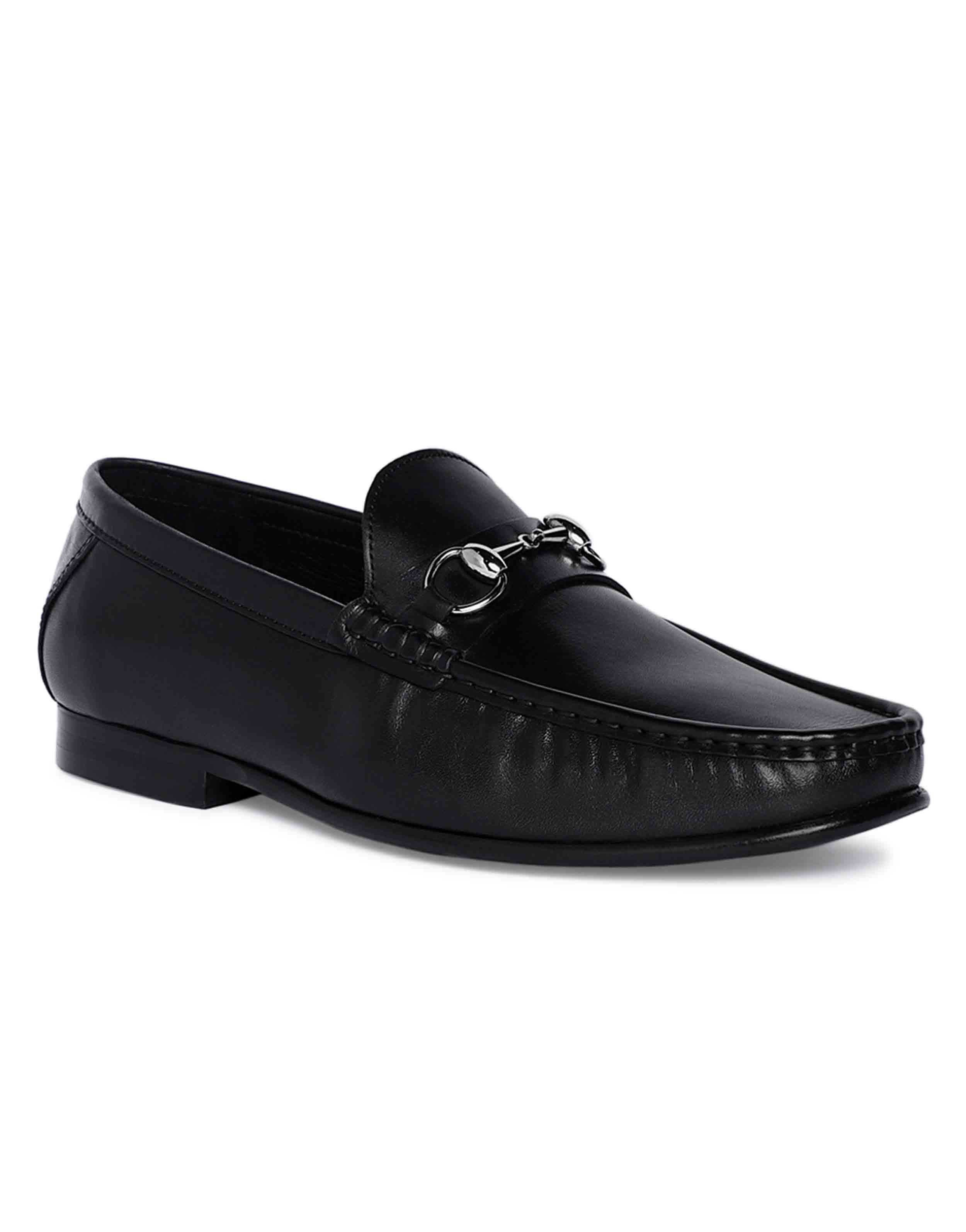 Charcoal Horse-bit Loafer 2