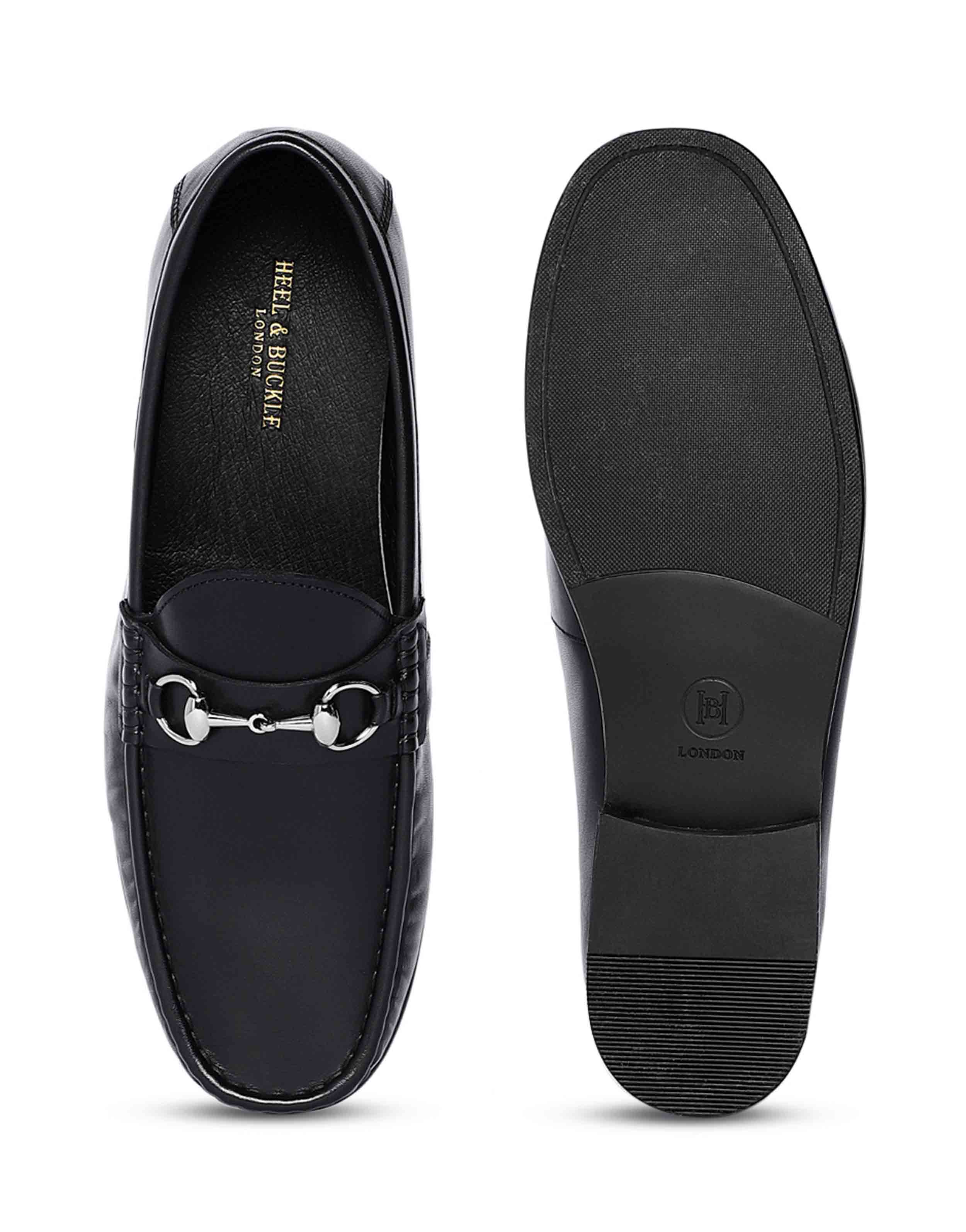 Charcoal Horse-bit Loafer 4