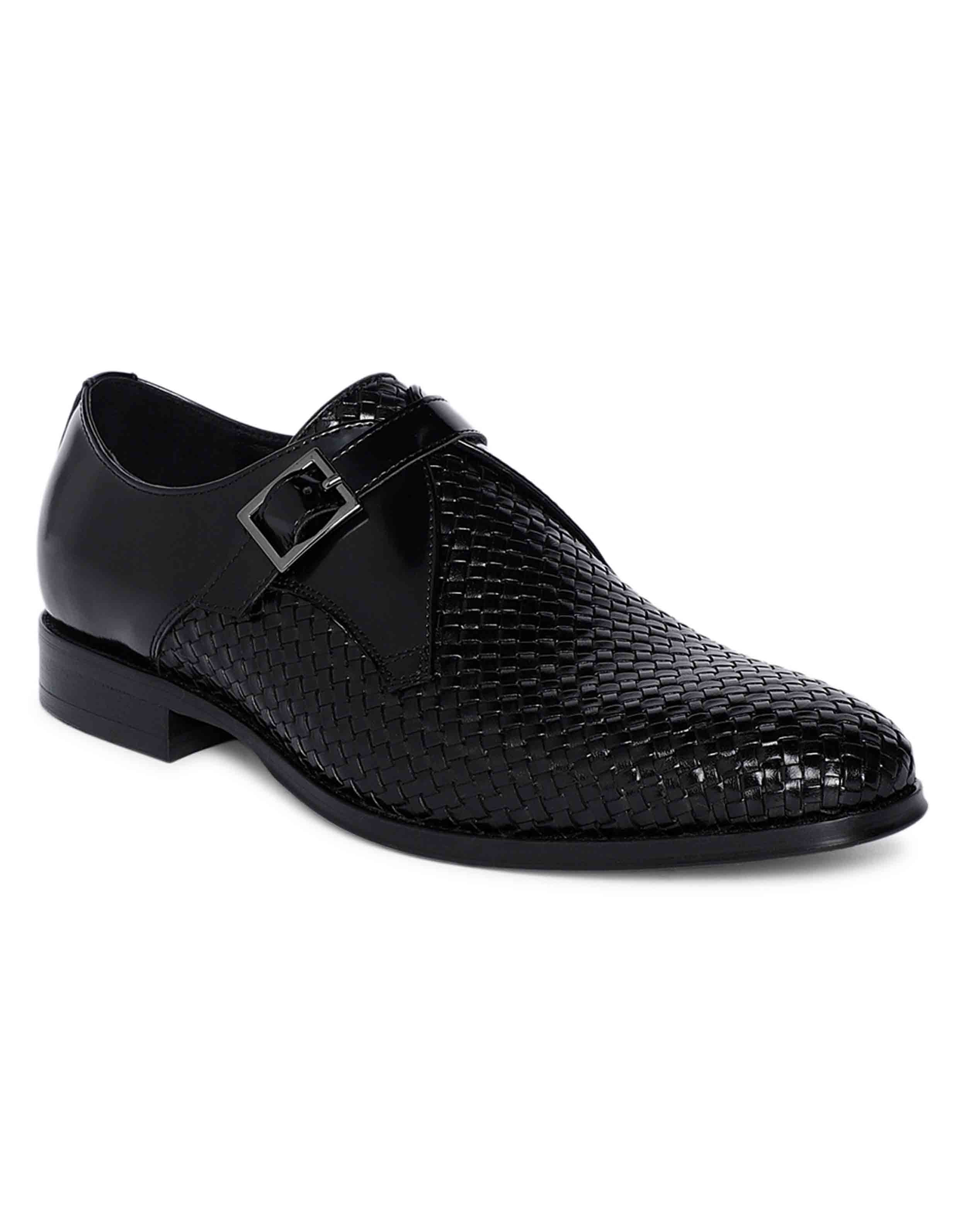 Charcoal Woven Single Monk 2