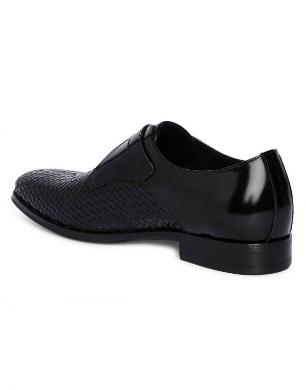 Charcoal Woven Single Monk 3