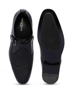 Charcoal Woven Single Monk 4