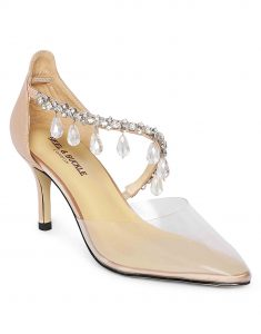 Clear Studded Sandals2