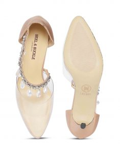 Clear Studded Sandals4