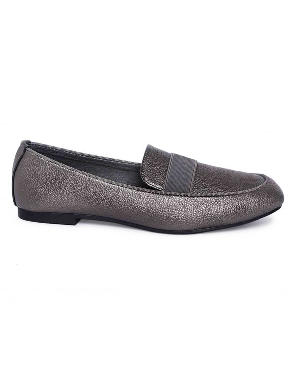 Grey Trendy Loafers1