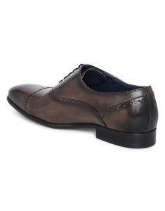 Grey medallion wingtip oxfords3