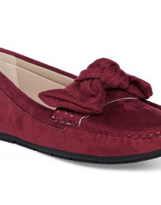 Maroon Bow-Tie Loafers5