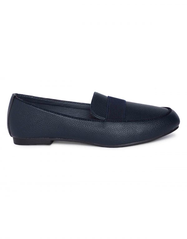 Navy Trendy Loafers1