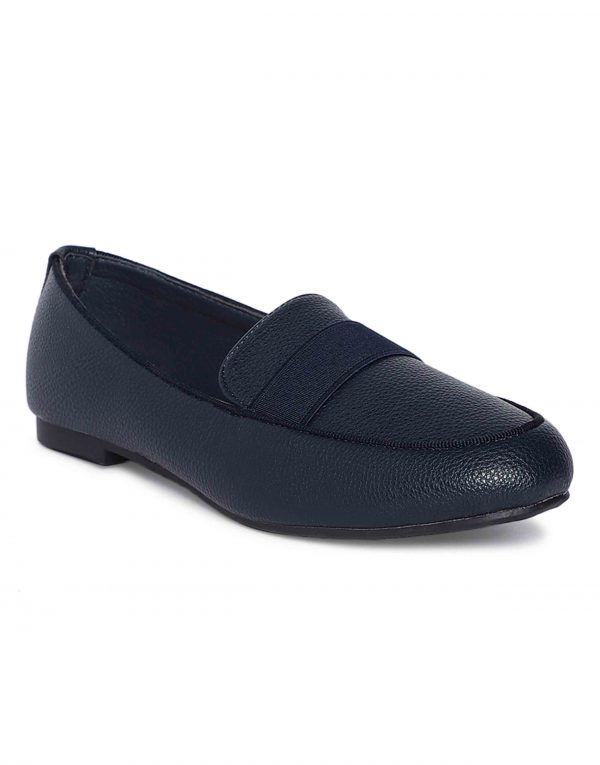 Navy Trendy Loafers2