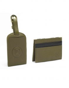 Olive Magic Wallet _ Luggage Tag Set2