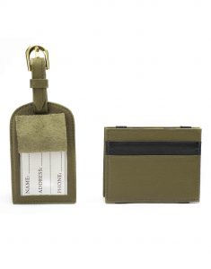 Olive Magic Wallet _ Luggage Tag Set3